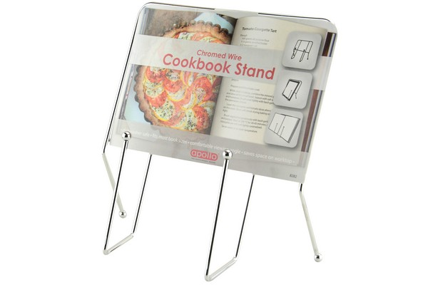 Metal Cook Book Stand Cookery Rack Baking Recipe Holder